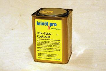 Tungöl leinölprodukte für bau und handwerk bio hirsch