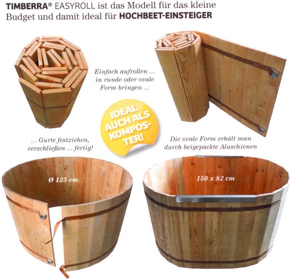 Easy Roll Hochbeet Bio Hirsch